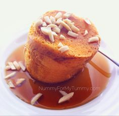 MAPLE-PUMPKIN MUG CAKE Breakfast is ready is just minutes with this yummy #glutenfree #grainfree & #paleo treat