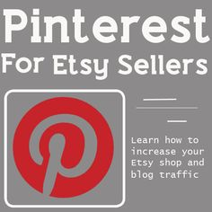 Did you know that over 20, 000 items are pinned on Pinterest every day from Etsy?  Etsy is the number one site pinned on Pinterest beating out Google.