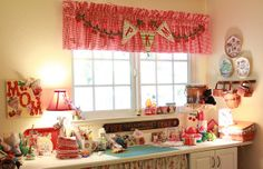 PKM sewing room by PamKittyMorning, via Flickr