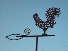 Girouette Cock Direction Du Vent Fonte Girouette Avec Coq De M/étal R/étro D/écoration Pour Patio Jardin Pelouse Ornements De Jardin