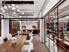 Working It: Rockwell's NeueHouse is More Club Than Office   Projects   Interior Design