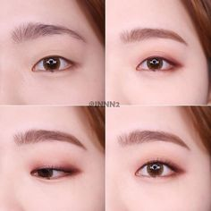 asian makeup – Hair and beauty tips, tricks and tutorials Korean Makeup Look, Korean Makeup Tips, Asian Eye Makeup, Male Makeup, Kiss Makeup, Beauty Makeup, Monolid Eyes, Monolid Makeup, Cute Eye Makeup