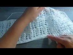 Blusa básica em crochê - passo a passo - YouTube Crochet Box, Crochet Shirt, Crochet Videos, Arm Warmers, Crochet Projects, Crochet Patterns, Sweaters For Women, Knitting, Crochet Kids Hats
