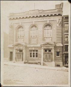 [Exterior of West 60th Street Public Baths.]