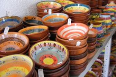 Want it all! Authentic pottery from quaint shop in Redondo. Pick some up while on a bike tour through Portugal.