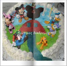 Χιώτικες Διαδρομές: Club Mickey Mouse τούρτα Νο 1 Mickey Mouse Cake, Birthday Parties, Birthday Cake, Mouse Parties, Kids Rugs, Cakes, Create, Party, Decor