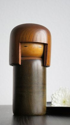 Big and heavy, but intricate hand graved kokeshi doll