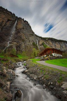 Mürren en #Suisse #Voyage #Paysage