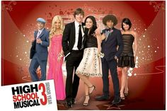 HIGH SCHOOL MUSICAL 3. I just rewatched this movie. I miss the old cast before they became corrupt.