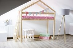 Why Choose a Bunk Bed for Your Youngster? – Bunk Beds for Kids Bunk Bed Ladder, Loft Bunk Beds, Kids Bunk Beds, Bunk Beds Small Room, Small Rooms, House Beds For Kids, Childrens Bunk Beds, House Frame Bed, Scandinavian Kids Rooms