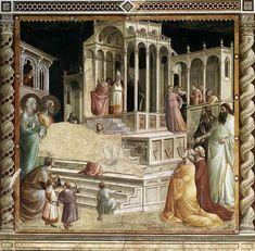 Введение Богородицы. 1330 Фреска. Капелла Барончелли, Санта-Кроче, Флоренция. http://www.wga.hu/support/viewer/z.html