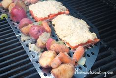 True Lemon Parmesan Grilled Salmon - I soooo want to try this!