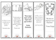 Menta Más Chocolate - RECURSOS y ACTIVIDADES PARA EDUCACIÓN INFANTIL: MARCAPAGINAS día del LIBRO Bookmarks, Doodles, Bullet Journal, Teaching, How To Plan, Ideas Para, Chocolate, Marque Page, Activities