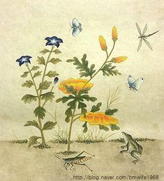 0번째 이미지 Bloom Blossom, Chinese Brush, Traditional Paintings, Chinese Painting, Botanical Prints, Fashion Art, Old Things, Birds, Drawings