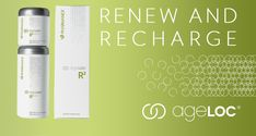 "Check out this link ageLOC R2 30 Day Supply  Recharge with ageLOC R2 Day and then Renew your cells with ageLOC R2 Night.  Go here to get started: http://www.gustomoto.nuskinops.com/content/opp/en_US/products/pharmanex/r2/01003901.html?cid=OPS_mybuilder_mybuilder&utm_source=mybuilder&utm_medium=mybuilder  (Note: R2 is pronounced ""r-squared."")"