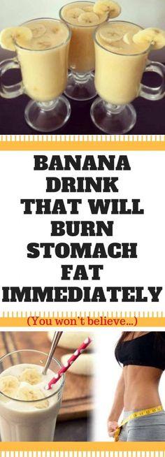 Banana Drink That Will Burn Stomach Fat Immediately - NZ Holistic Health Health Blog, Health Advice, Health And Wellness, Health Fitness, Health Diet, Mental Health, Wellness Fitness, Fitness Diet, Health Tips For Women