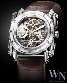 MANUFACTURE ROYALE - Androgyne Discover the world of watches on: www.watches-news.com #Watch