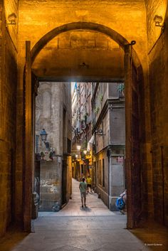 Barcelona street, by Jacint Guiteras
