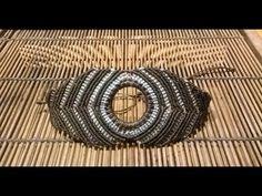 Pulsera macramé marrones - YouTube