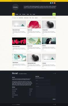 Caja – WordPress Theme