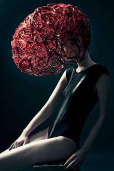 Sanne Grasdijk - Fashion Photography - Fantasy - Dark - Conceptual - Avant Garde - Hair