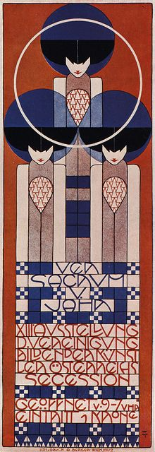 Koloman Moser - Affiche pour la 13e exposition de la sécession viennoise - 1902