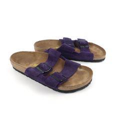 5b00de5d4036 Birkenstock Sandals Vintage 1990s Arizona by purevintageclothing Suede  Birkenstocks