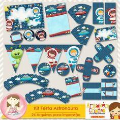 Kit Festa Astronauta by Lu Ifanger e Cris Oliveira