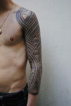 tomasi suluape.23 | tattooed by Tomasi Sulu`ape Samoan Tatto… | Flickr