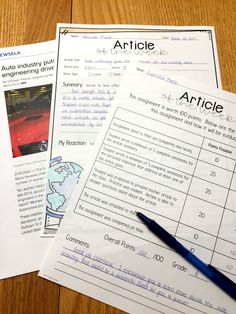 Incorporate current events into your classroom with this free worksheet.