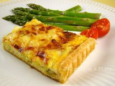 Once Upon a Plate: Leek Quiche in Puff Pastry