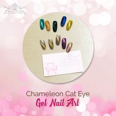 Are you tired of single-toned nails and the same old boring patterns? Try our Chameleon Cat Eye Gel and say good bye to the old boring patterns!  For more information or making appointments, call us at +65 6635 2825 / +65 9387 3231. Visit our website at http://www.pretticarebeauty.com for more details. Like us on Instagram at https://www.instagram.com/pretticarebeauty/ #pretticarebeauty #beautysg #pretticare #sg #singapore
