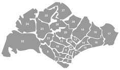 Singapore Districts explained