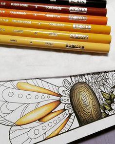 Mal eine Farbcombi für Gelb die mir sogar gefällt! #coloringbook #colorcombo #prismacolor #gelb #yellow