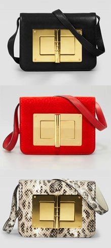 Tom Ford Natalia Bag - I saw this in person it is amazing! Oui Oui, Little Bag, Beautiful Bags, Clutch Purse, Handbag Accessories, Purses And Handbags, Tom Ford, Leather Bag, Boutique