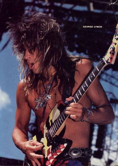 George Lynch - Guitar Hero God from the band DOKKEN and Lynch Mob --- Download the Guitar Album SHREDWORX on ITunes or Amazon MP3