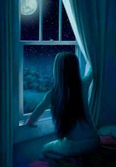 At The Window by Connie Christensen http://www.childrensillustrators.com/illustrator-details/CChristensen/id=2782/