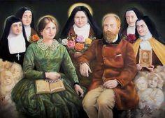 Louis & Zelie Martin (padres de Santa Teresita del Niño Jesús), canonizados el 18 de octubre de 2015, por el Papa Francisco.