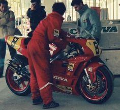 1990/3/25 日本GP 鈴鹿サーキット GP500 CAGIVA 500