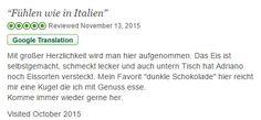 Danke für die Tripadvisor Bewertung (Eiscafe) - http://www.eiscafekeltern.de/danke-fuer-die-tripadvisor-bewertung-eiscafe/