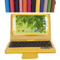 MoKo Samsung Galaxy Tab 3 7.0 Keyboard Case - Wireless Bluetooth Keyboard Cover Case for Samsung Galaxy Tab 3 7.0 Inch Android Tablet, YELLOW - http://androidizen.com/shop/moko-samsung-galaxy-tab-3-7-0-keyboard-case-wireless-bluetooth-keyboard-cover-case-for-samsung-galaxy-tab-3-7-0-inch-android-tablet-yellow/