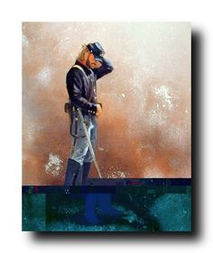Bring classic art into your home or office with this civil war blue soldier Union America art print poster. This poster can be put on your drawing room wall to showcase how you plan to take over the challenges that life throws at you. Native Americans were not guaranteed U.S. citizenship until 1924; most Native American soldiers in World War I wore the uniform of a country that did not permit them to vote.
