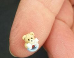 Bear Rattle by MandaTheart on Etsy