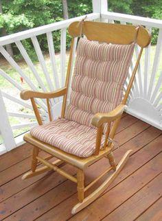 Bon Outdoor Rocking Chair Cushion Sets   Home Furniture Design