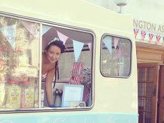 Bluebelle the vintage ice cream and cupcake van, Ice cream van hire