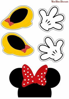Mickey Mouse Art, Minnie Mouse Theme, Mickey Mouse Parties, Mickey Party, Mickey Mouse Clubhouse, Image Mickey, Mouse Crafts, Mickey Mouse Birthday, Disney Scrapbook