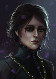 Iris von Everec (Witcher 3: Hearts of Stone) by Sicarius8 on DeviantArt