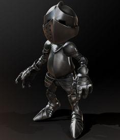 ZBrush 3d armour cartoon