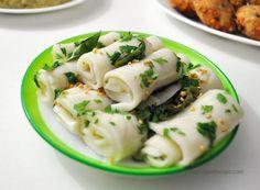Farali Khandvi Recipe