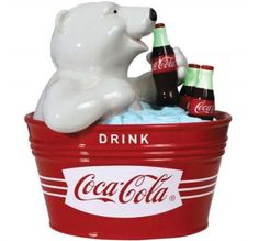 Coca-Cola Polar Bear Cookie Jar by Westland Giftware